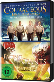 Doppel-DVD Courageous / Facing The Giants