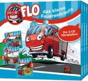 CD-Box: 1: Flo, das kleine Feuerwehrauto (Folgen 1-3)