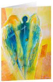 """Kunstkarten """"Engel des Neubegins"""" - 5 Stk."""