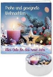 """Lichtgruß """"Frohe Weihnachten"""""""