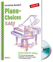 Piano Choices EASY (Klavierpartitur + CD)