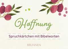 Spruchkärtchen mit Bibelworten 1, 50 Stück