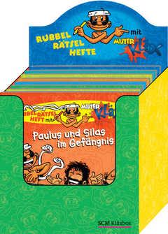 Display Mister Kläx Rubbel-Rätsel-Hefte