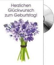 CD-Card: Herzliche Glückwunsch zum Geburtstag ( Strauß )