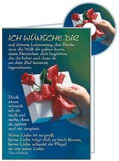 CD-Card: Ich wünsche dir - Geburtstag