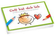 Gott hat dich lieb - Postkartenbuch