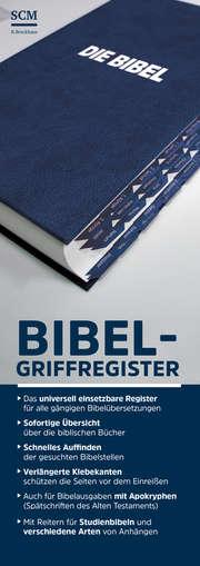 Bibel-Griffregister blau